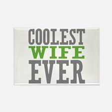 Coolest Wife Rectangle Magnet