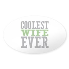 Coolest Wife Decal