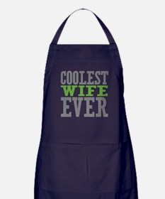 Coolest Wife Apron (dark)