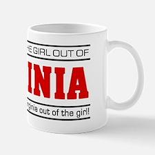 'Girl From Virginia' Mug