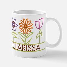 Clarissa with cute flowers Mug