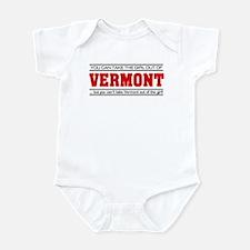 'Girl From Vermont' Infant Bodysuit