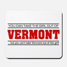 'Girl From Vermont' Mousepad