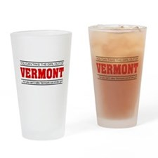 'Girl From Vermont' Drinking Glass