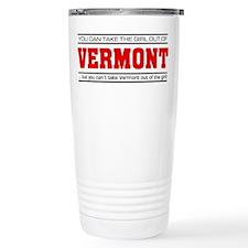 'Girl From Vermont' Travel Mug