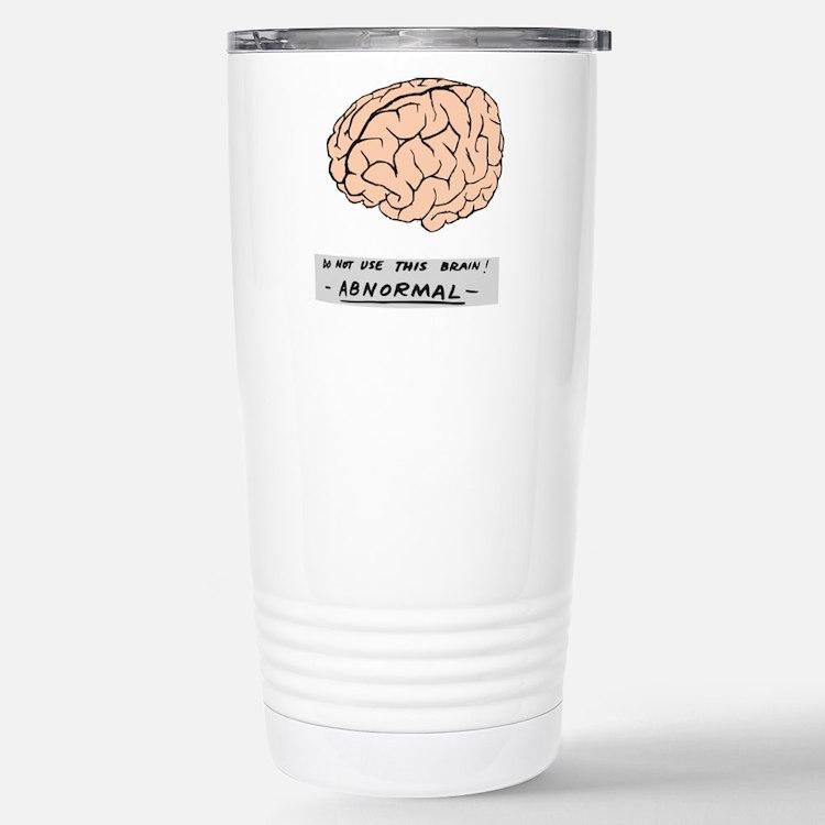 Abby Normal - Stainless Steel Travel Mug