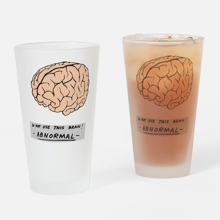 Abby Normal - Drinking Glass