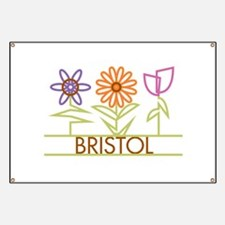 Bristol with cute flowers Banner