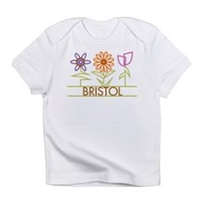 Bristol with cute flowers Infant T-Shirt