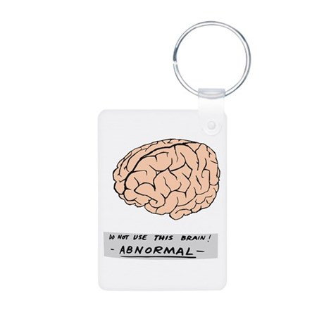 Abby Normal - Aluminum Photo Keychain