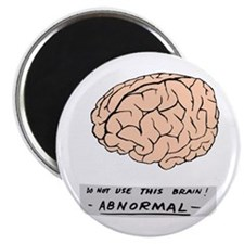 """Abby Normal - 2.25"""" Magnet (100 pack)"""