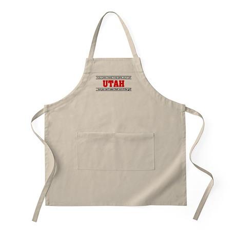 'Girl From Utah' Apron