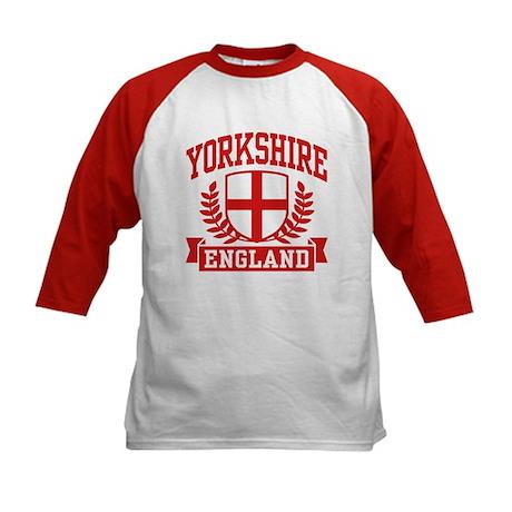 Yorkshire England Kids Baseball Jersey