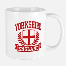 Yorkshire England Mug