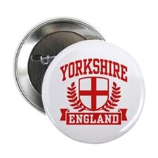 "Yorkshire England 2.25"" Button"