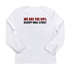 Occupy Wall Street [st] Long Sleeve Infant T-Shirt