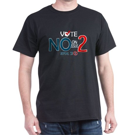 Vote NO Issue 2 Dark T-Shirt