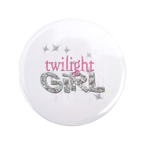 """Twilight Girl Pink 3.5"""" Button (100 pack)"""
