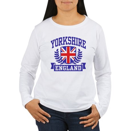 Yorkshire England Women's Long Sleeve T-Shirt
