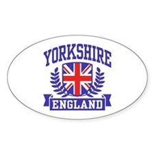 Yorkshire England Decal