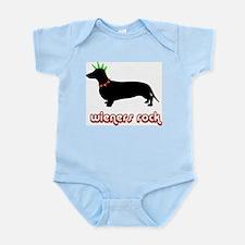 Wieners rock! Infant Bodysuit