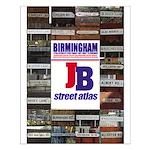 JB 'Birmingham street atlas' Poster