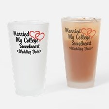 Married College Sweetheart (Wedding Date) Drinking