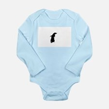 Per Penguin 5 Long Sleeve Infant Bodysuit