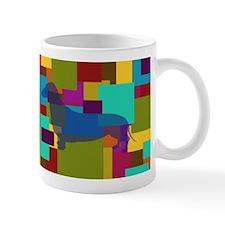 Dachshund Mosaic Mug