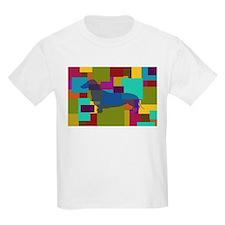 Dachshund Mosaic T-Shirt