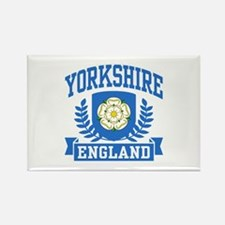 Yorkshire England Rectangle Magnet