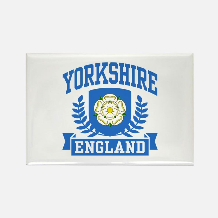 Yorkshire England Rectangle Magnet