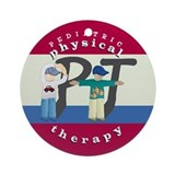 Physical therapy ornament Round Ornaments