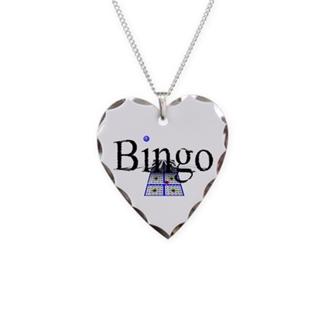 Bingo Necklace Heart Charm