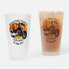 Triumph Rocket III Drinking Glass