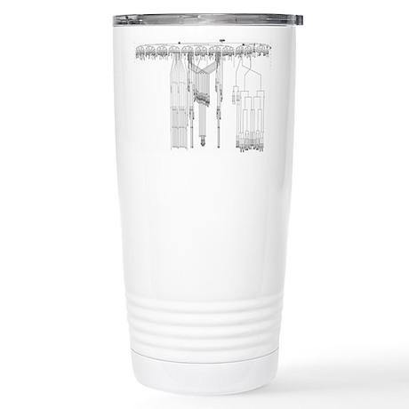 C. elegans Lineage Stainless Steel Travel Mug