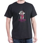 Zombie Nerd. For Awareness. Dark T-Shirt