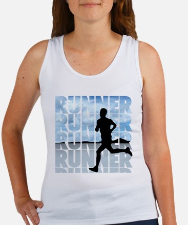 Funny Cross country running Women's Tank Top