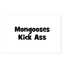 Mongooses Kick Ass Postcards (Package of 8)