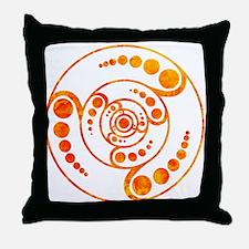 Cute Crop circles Throw Pillow