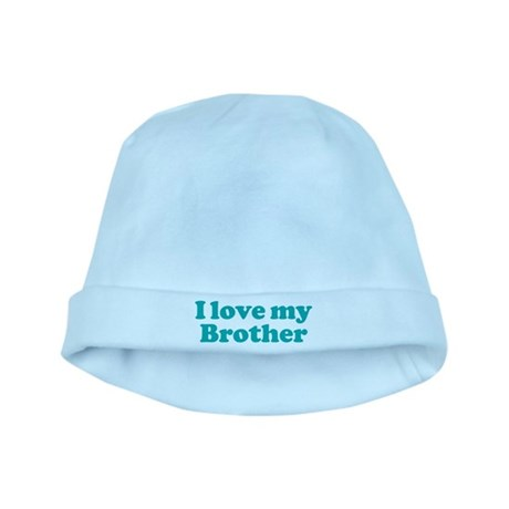 I Love My Brother baby hat