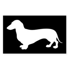 Cute Miniature dachshund Decal