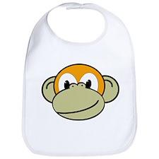 Evolution the Monkey Bib