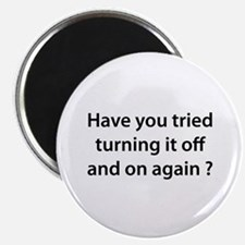 """Off and On 2.25"""" Magnet (100 pack)"""