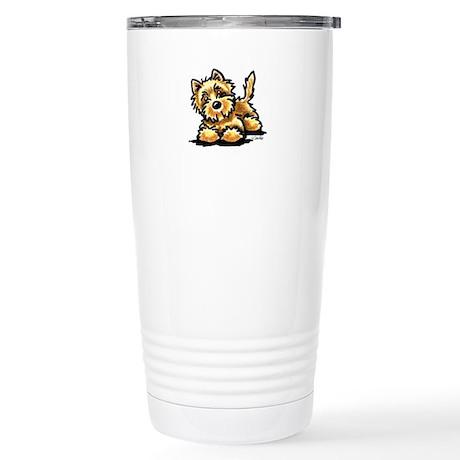 Wheaten Cairn Terrier Stainless Steel Travel Mug