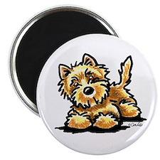 Wheaten Cairn Terrier Magnet