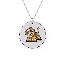 Wheaten Cairn Terrier Necklace