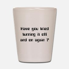 Off and On Shot Glass