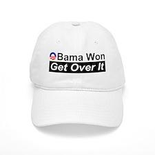 Obama Won Get Over It Baseball Cap