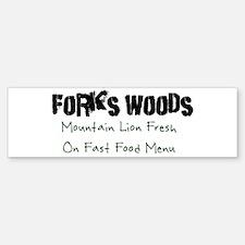 Edward Forks Woods Bumper Bumper Sticker